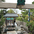 鎮魂の儀はこちらで…京都衣笠「六請神社」