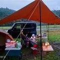 雨でもキャンプ