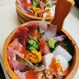 画像 浜幸人気の海鮮丼3種 の記事より 1つ目