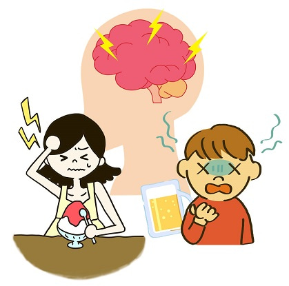 頭痛・アイスクリーム頭痛