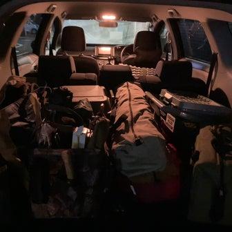 キャンプ道具の積載を考える