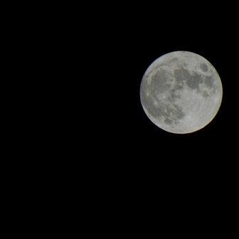 2021年10月20日は満月ハンターズムーンでした。