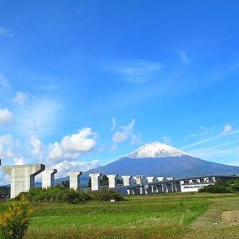 路線バスから撮った富士山♪