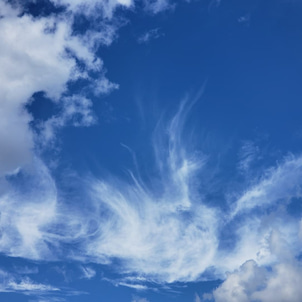 青空散歩 空と雲の画像