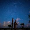 新婚旅行1日目♡夜の宮古島の様子と満点の星空で素敵な写真!