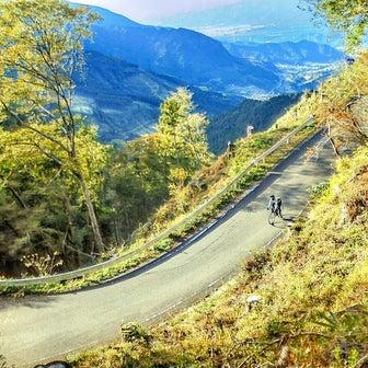 愛媛県 癒やしの面河渓へ 黒森峠往復サイクリング
