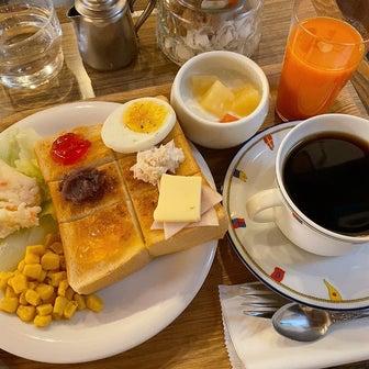 高井戸『喫茶マカボイ』でみちみち幸せモーニング
