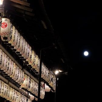 祇園八坂で観るハンターズムーン