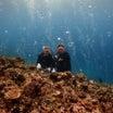 新婚旅行2日目♡宮古島でダイビングしたら写真が面白すぎて爆笑でした。