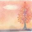 3色パステルアート 秋の色
