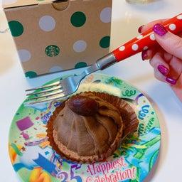 画像 #スタバ の #秋スイーツ #栗ずくめのモンブラン #美味しい #栗 #モンブラン #ケーキ の記事より 4つ目