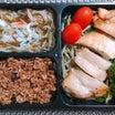 夫の健康診断結果・鶏の照り焼き弁当