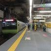 渋谷駅「山手線内回りホーム」が、2021-10-25(月)始発より「拡幅」されました
