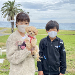 画像 2021.10.24 ご宿泊のワンちゃん達の笑顔☆ の記事より 2つ目
