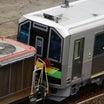 川崎車両「甲種またも3days」初日(H100形初日)と、ついに出た「銀の赤雷」!写真はまだよ!