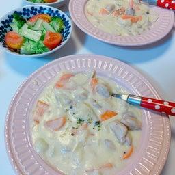 画像 #クリームシチュー #晩ご飯 #お母さんの料理 #シチュー 手作り #野菜いっぱい の記事より 4つ目
