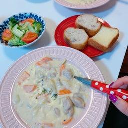 画像 #クリームシチュー #晩ご飯 #お母さんの料理 #シチュー 手作り #野菜いっぱい の記事より 5つ目