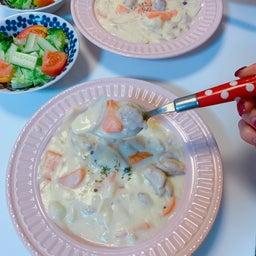 画像 #クリームシチュー #晩ご飯 #お母さんの料理 #シチュー 手作り #野菜いっぱい の記事より 6つ目