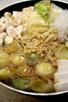料理研究家 沢田けんじの料理びより-葱鶏なべ