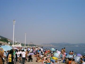 白石湾海岸2007