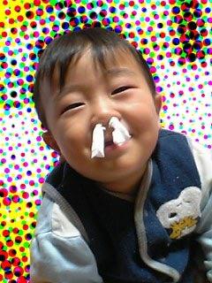 鼻ティッシュ