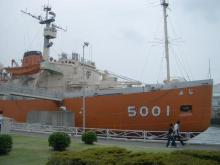 南極観測船ふじ