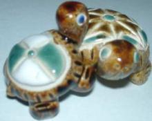 まあるい陶器置物 2柄
