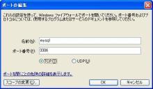 mysql port 3306