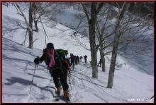 ロフトで綴る山と山スキー-大パーティー