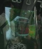 リニモ9番のまん中車両の左側映像3