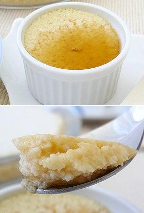 お豆腐で料理-クレームカラメル