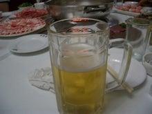 小肥羊の生ビール