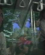 リニモ9番のまん中車両の左側映像1