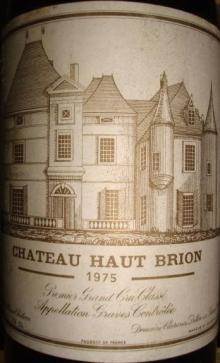 Ch Haut Brion 1975
