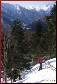 ロフトで綴る山と山スキー-尾根取付き