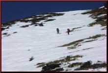 ロフトで綴る山と山スキー-山頂直下を滑る