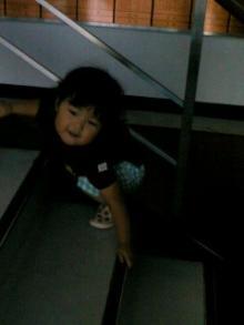 階段タックル