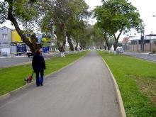 Camino para peatones