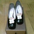 お花のヴィトン靴