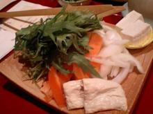 烏丸,梅の花,野菜と豆乳のしゃぶ膳,野菜