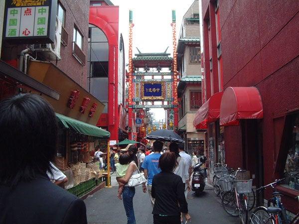 おなじみ、横浜中華街・・・。