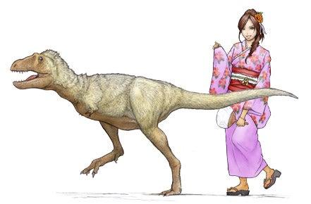 5歳のタルボサウルス