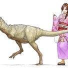 タルボサウルスの子供発見!の記事より