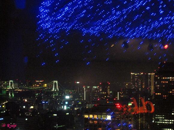 東京タワー 天の川