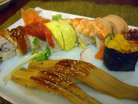 お寿司も美味しそう!