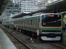 中央線の電車と釜-K-32