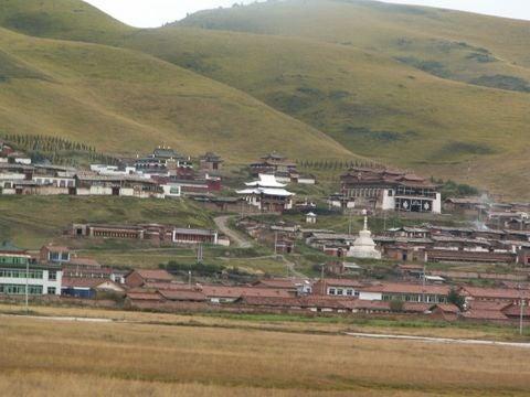 高原の小さな村