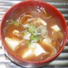 ナメコと豆腐