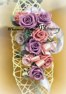 Plumerry(プルメリー)プリザーブドフラワースクール (千葉・浦安校)-ラベンダーカラー