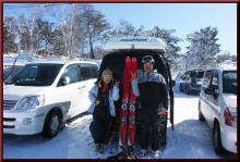 ロフトで綴る山と山スキー-無事帰着